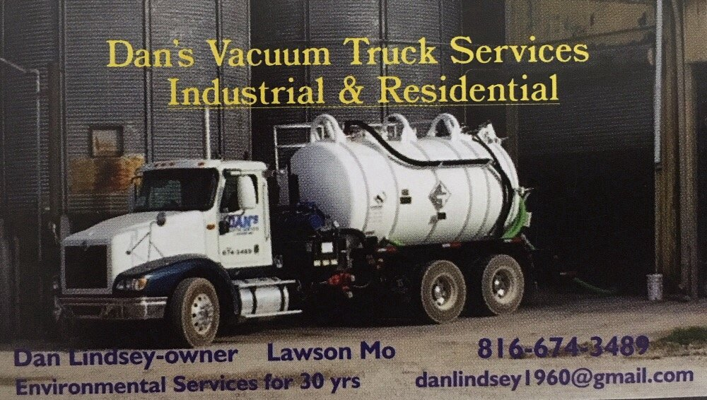 Dan's Vaccum Truck Services Industrial & Residential: Lawson, MO