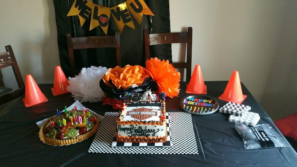 My Boyfriends Harley Davidson Birthday Cake Design Taste All Came
