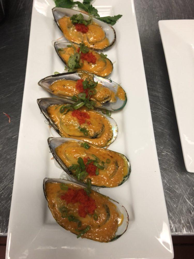 Food from Yamato Japanese Steakhouse and Sushi