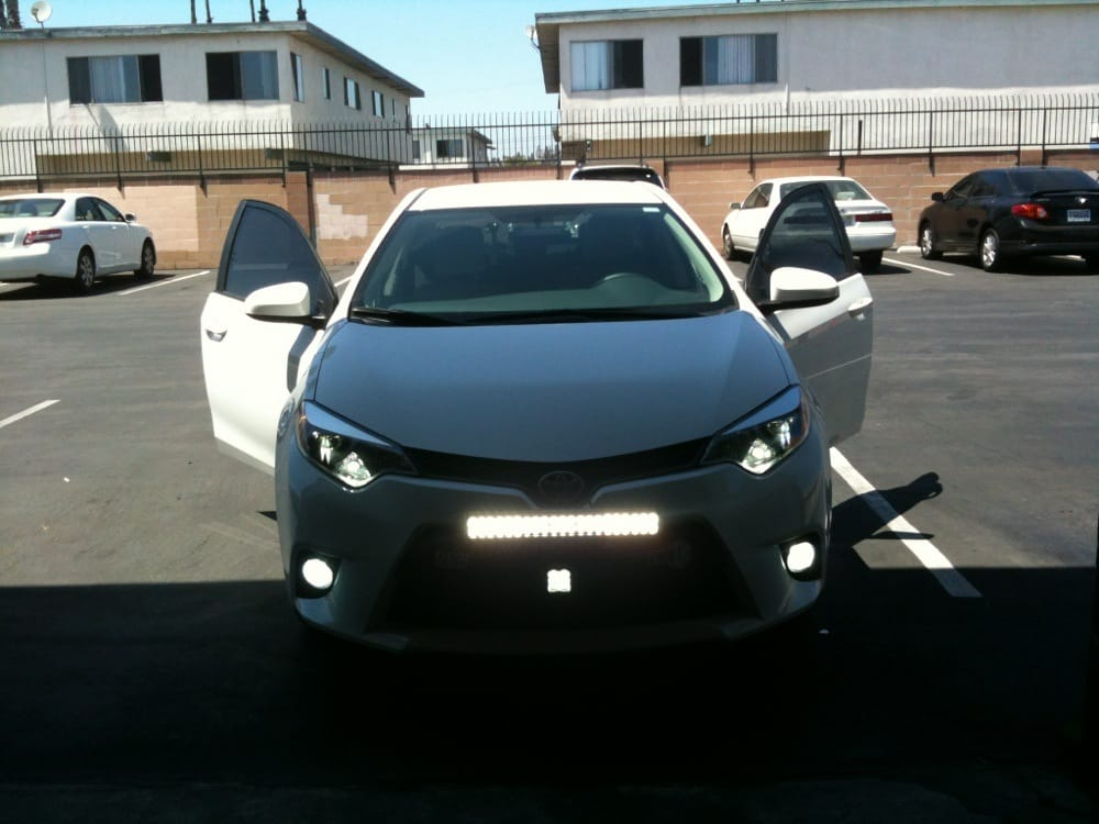 Toyota corolla 2014 with off road light hid fog lights switch back photo of h t led westminster ca united states toyota corolla aloadofball Gallery