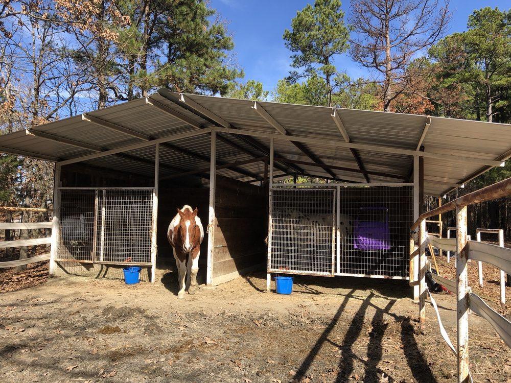 Horse Heaven Ranch: 1 Horse Heaven Ln, Talihina, OK