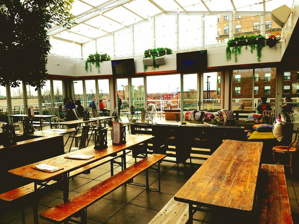 Luft Rooftop Beer Garden: 510 E Main, Bismarck, ND