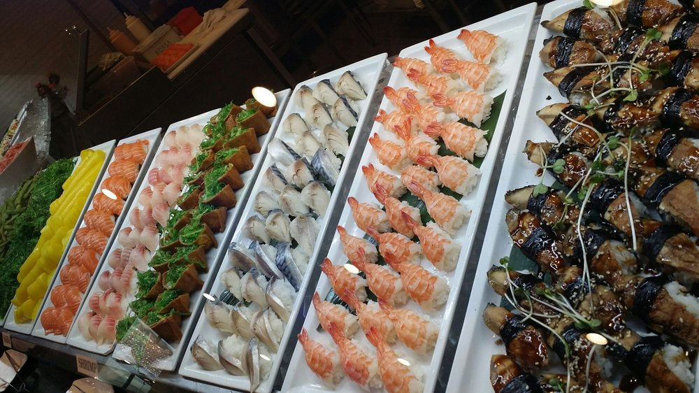 Sushi bar for lunch only at east buffet yelp - East buffet hawaiian gardens price ...