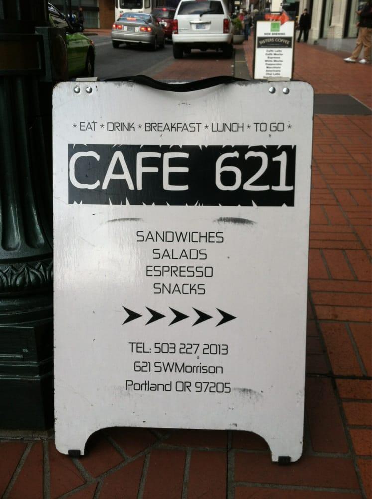 Cafe 621: 621 SW Morrison, Portland, OR