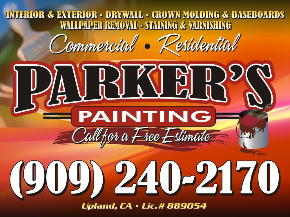 Parker's Painting: 1455 N Euclid Ave, Upland, CA