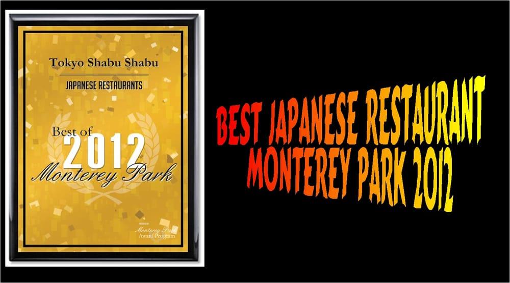 Best Japanese Restaurant In Monterey Ca