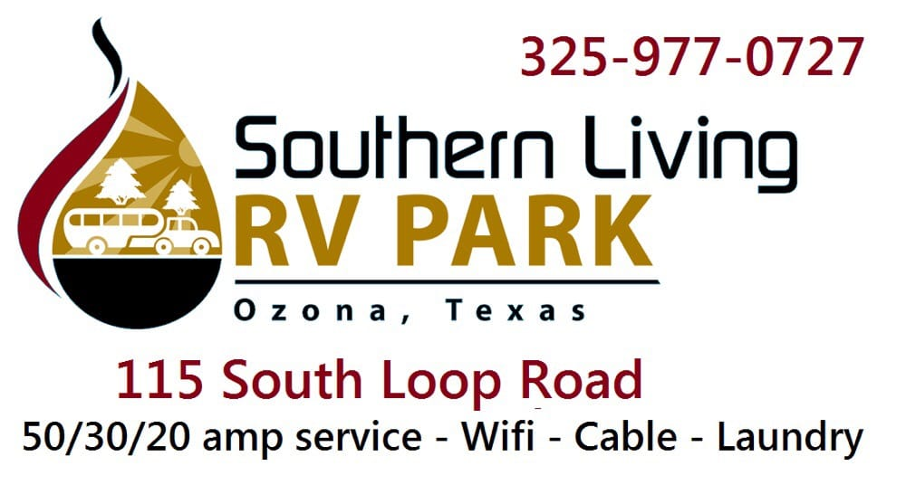 Southern living rv park rv parks 115 s loop private rd for Southern living phone number