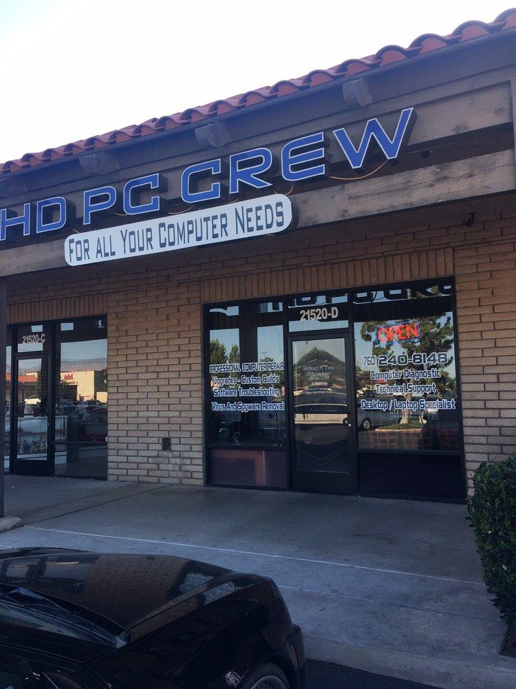 Hi Desert PC Crew: 21520 Bear Valley Rd, Apple Valley, CA