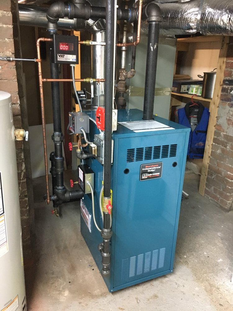 A new steam boiler with an automatic fill valve. A worry free steam ...