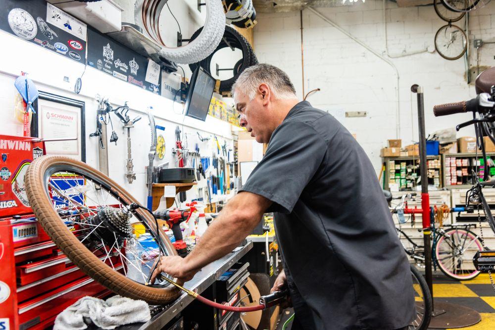 Sullivan's Continental Bike Shop & Amp Brothers: 24434 John R Rd, Hazel Park, MI