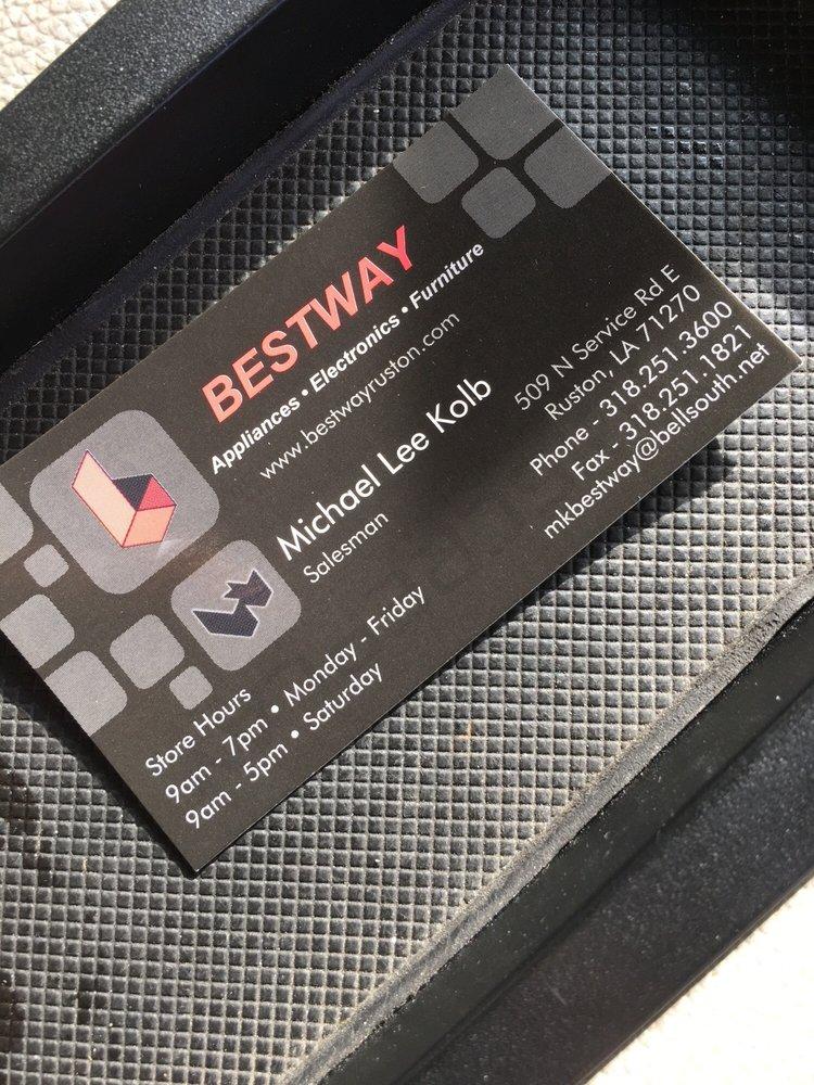 Bestway: 509 N Service Rd E, Ruston, LA