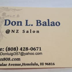 Don l balao massage 3396 waialae ave honolulu hi for 808 salon honolulu