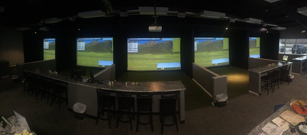 Backspin Indoor Golf & Bar: 106 SW State St, Ankeny, IA