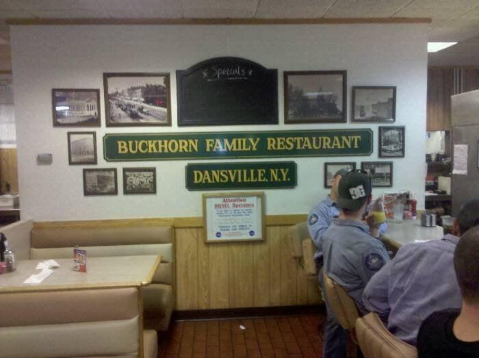 Buck Horn Family Restaurant: Commerce Dr, Dansville, NY