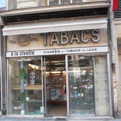 Civette La Bureaux De Tabac 3 Cours De L Intendance Hotel De