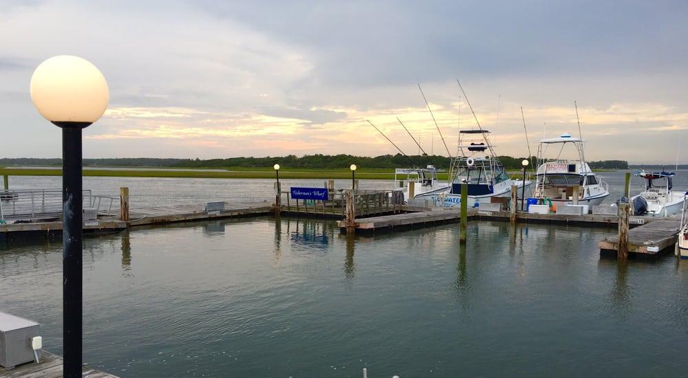 Blue Point Marina Oak Island Nc