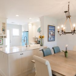 Photo Of Dream Kitchens   Nashua, NH, United States. White Cabinets With  Blue