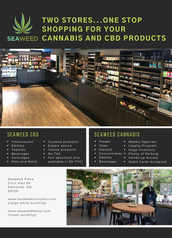 Seaweed Cannabis: 21412 WA-99, Edmonds, WA