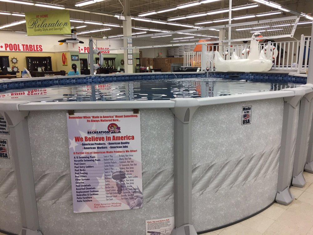 Lots Of Pools Filled With Water On Display Here Yelp