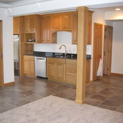 finished basement plus 46 photos contractors galena oh rh yelp com Finished Basement Industrial Finished Basement Columns