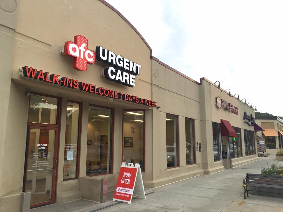 AFC Urgent Care Arlington: 1398 Massachusetts Ave, Arlington, MA