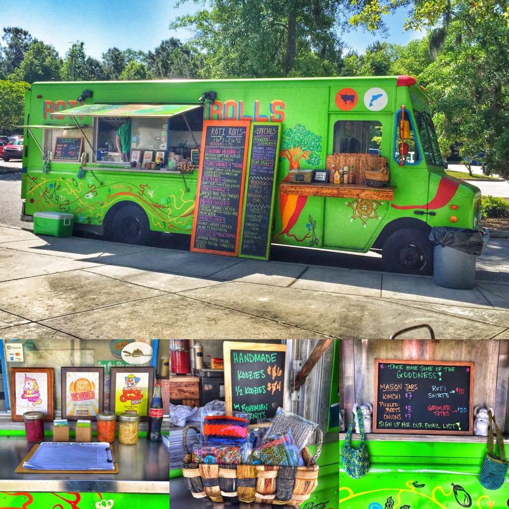 Roti Rolls Food Truck Charleston Sc