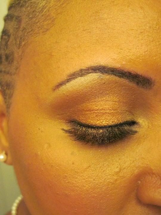 Temporary brow tattoo through your brow pencils away for Temporary eyebrow tattoos