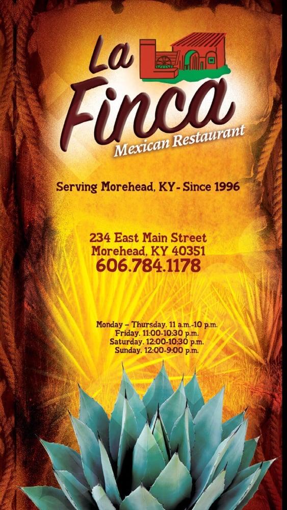 La Finca Mexican Restaurant: 234 E Main St, Morehead, KY