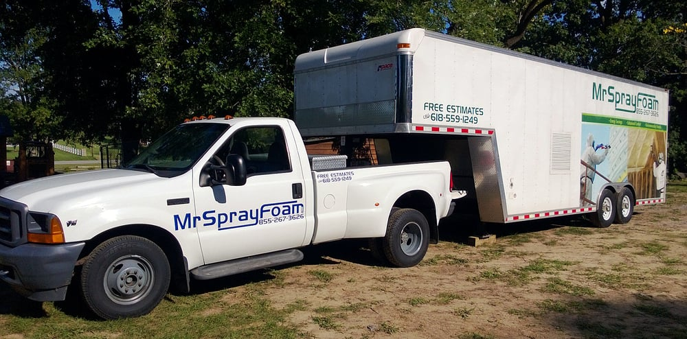 Mr Sprayfoam: 502 S Main St, Jonesboro, IL