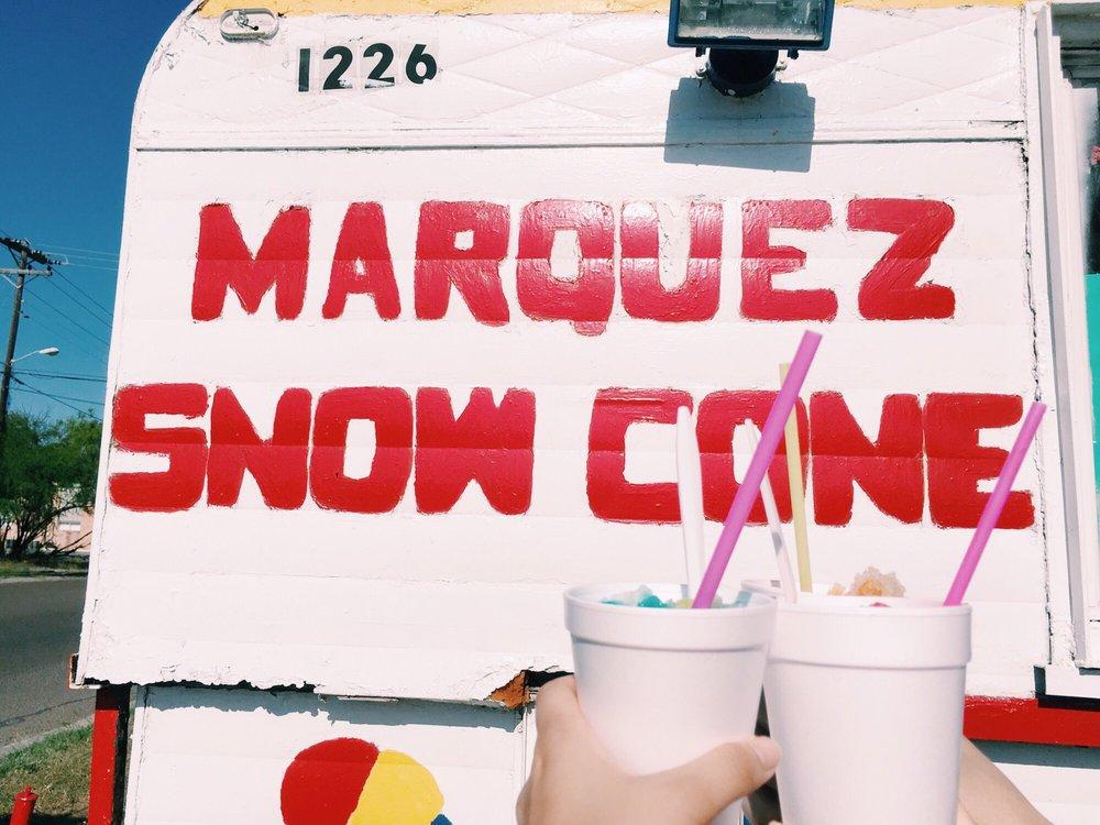 Marquez Snow Cone: 2098 Grimes Ave, Harlingen, TX