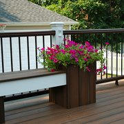 Cambridge Patio Photo Of Long Island Decking Park Ny United States Trex Transcends