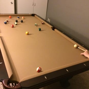 Photo Of The Pool Table Guys   Stockton, CA, United States. First Game