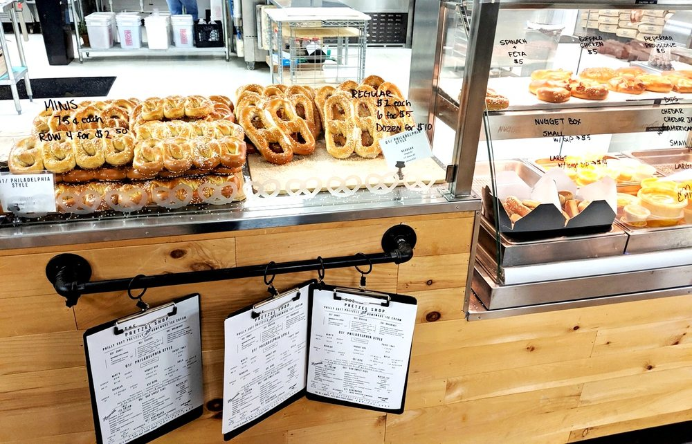 The Pretzel Shop: 301 N Rte 9, Cape May Court House, NJ