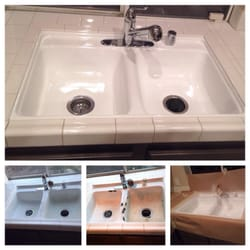 photo of golden state refinishing perris ca united states kitchen sink refinished - Kitchen Sink Refinishing