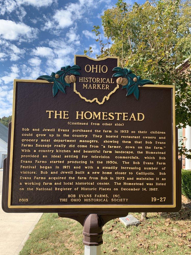 Bob Evans Farm & Homestead: 791 Farmview Rd, Bidwell, OH