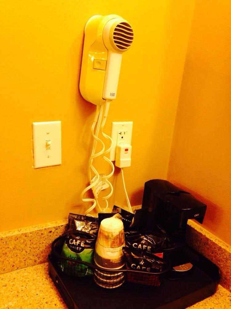 Coffee maker & hair dryer - Yelp