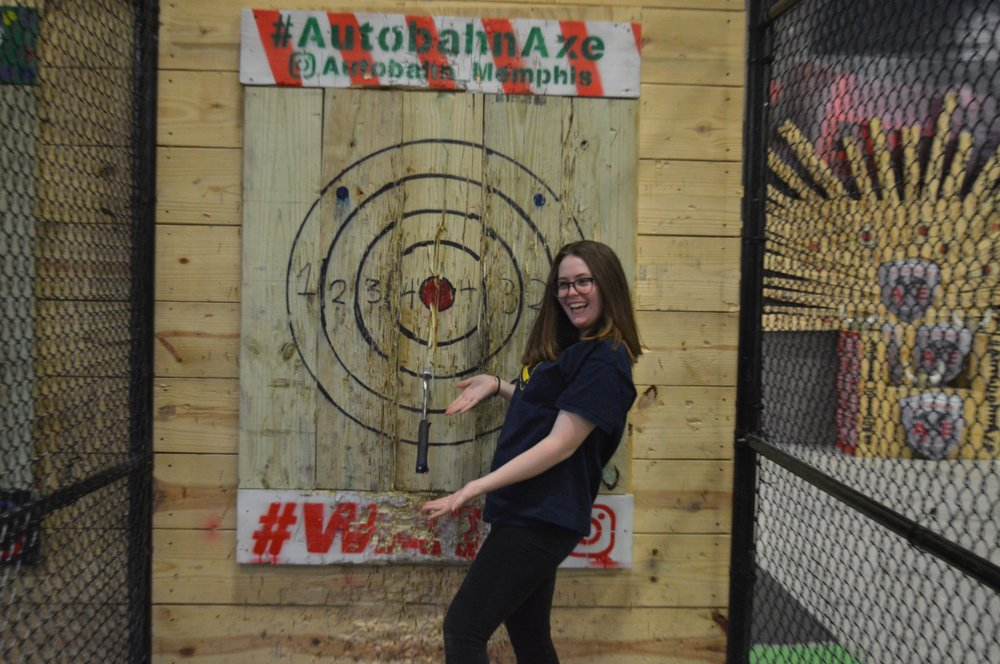 Autobahn Axe Throwing: 6399 Shelby View Dr, Memphis, TN