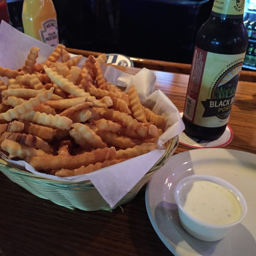 One Hell Of A Basket Of Fries While I Wait....