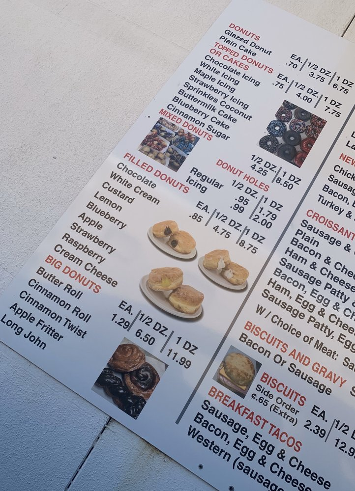 Shipleys Donuts: 2720 S Hazel St, Pine Bluff, AZ