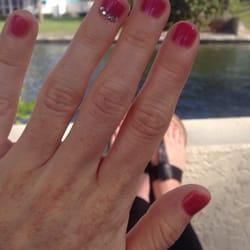 Q nails nail salons 312 tamiami trl n naples fl phone photo of q nails naples fl united states no chip mani w prinsesfo Image collections