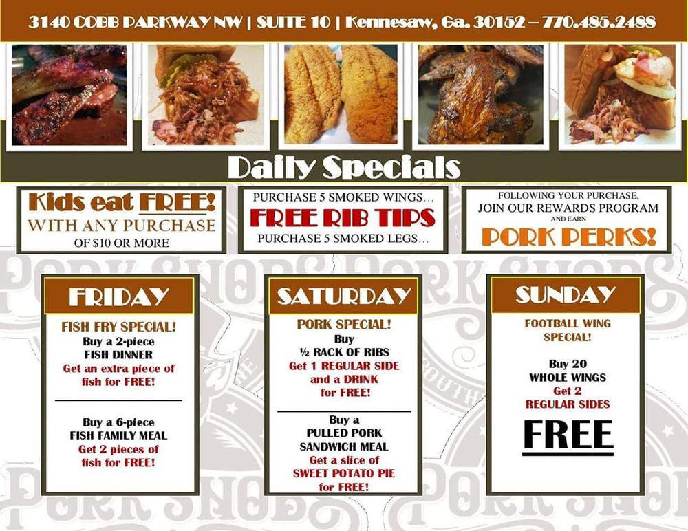 Pork Snobs: 3140 Cobb Pkwy NW, Kennesaw, GA