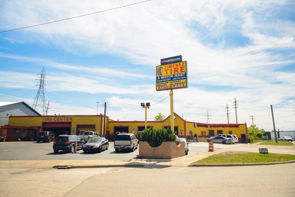 Jimenez Tire & Motor Mart: 121 E Montcalm St, Pontiac, MI
