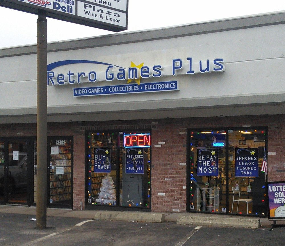 Retro Games Plus: 350 Boston Post Rd, Orange, CT