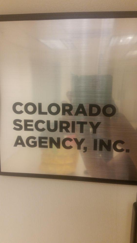 Colorado  Security Agency