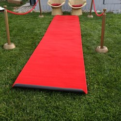 photo of coach ronu0027s party rental allentown pa united states red carpet