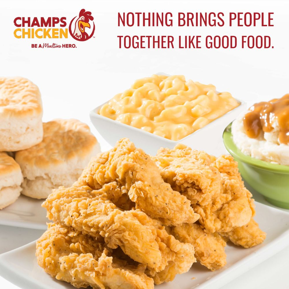 Champs Chicken: 501 6th Ave SE, Watford City, ND