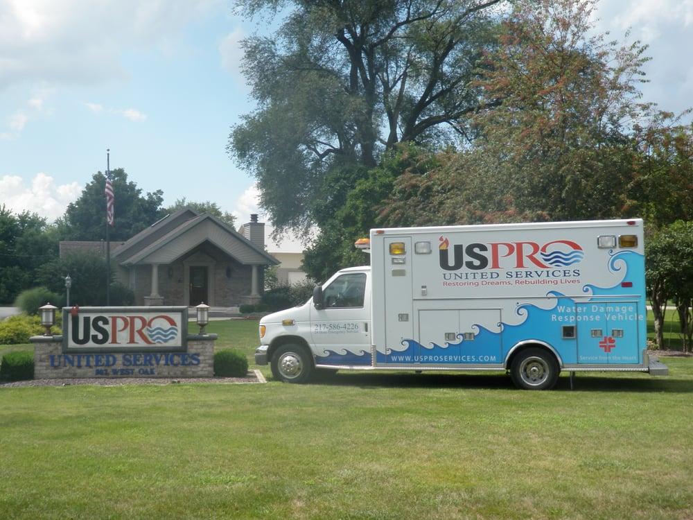 USPRO Services: 807 W Oak St, Mahomet, IL