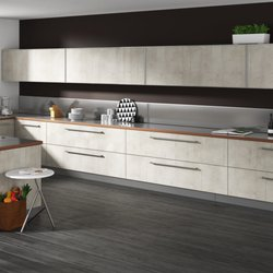 Photo Of Adornus Cabinetry   Doral, FL, United States. White Concrete By  Alusso ...