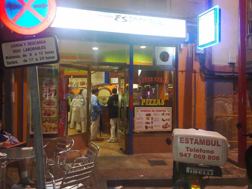 Pizzeria kebab estambul hoteles y viajes calle for Hoteles en miranda de ebro burgos