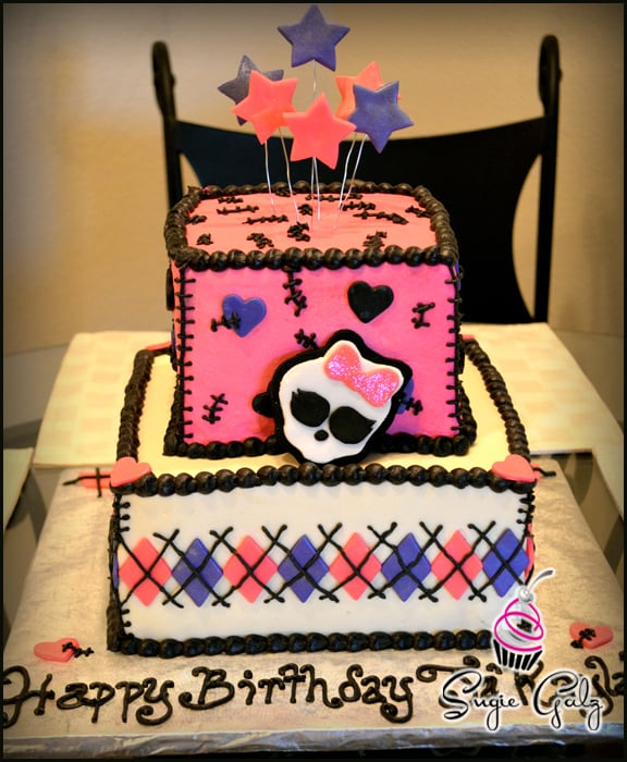 Monster High Theme Birthday Cake In Austin Texas Yelp
